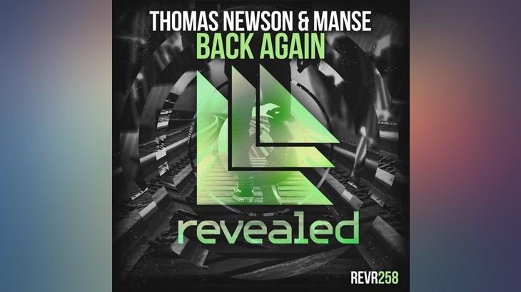 Photo of #Release   Thomas Newson & Manse – Back Again
