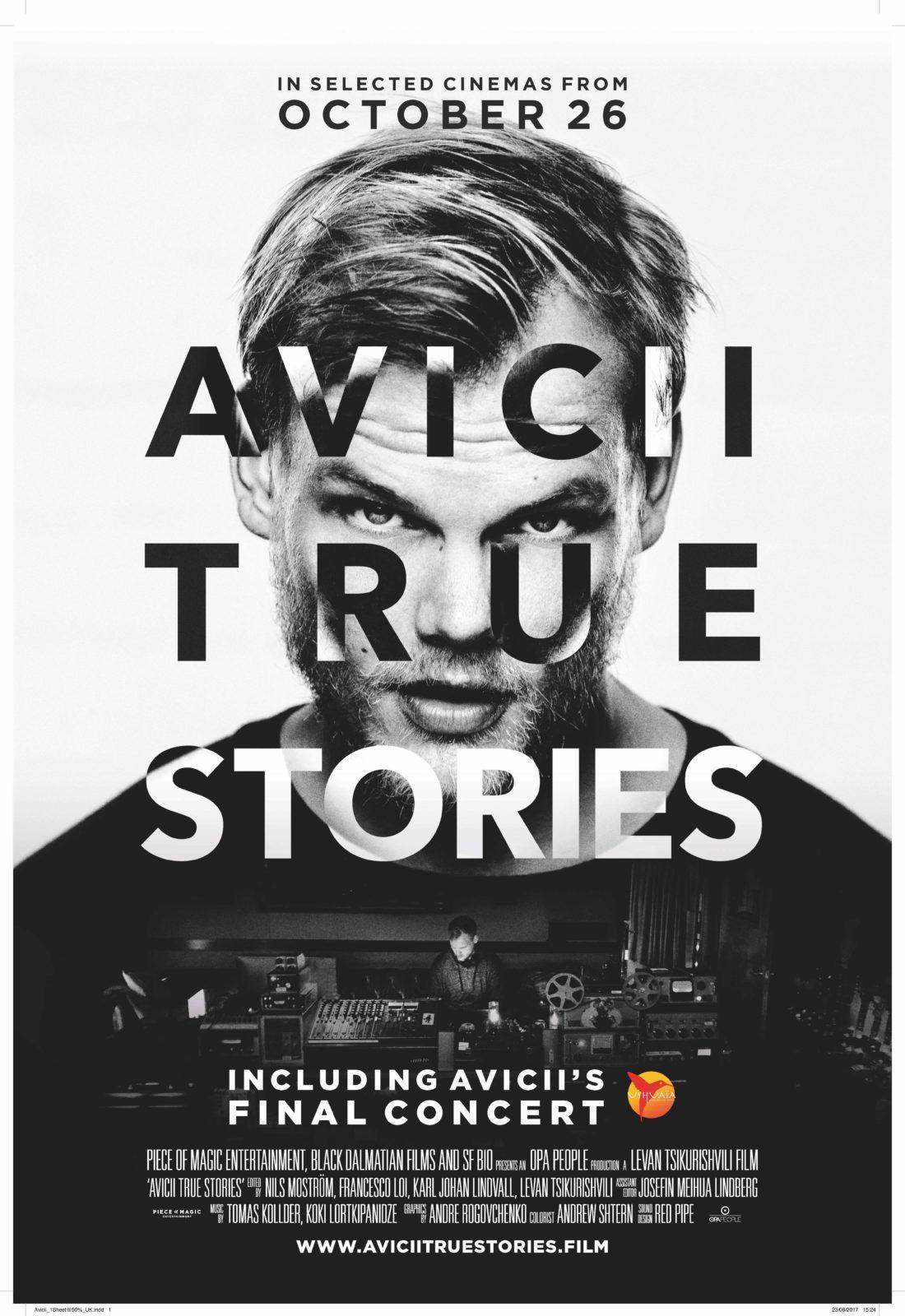 Photo of Avicii al Cinema con il suo Docu-Film il 12 Dicembre in esclusiva