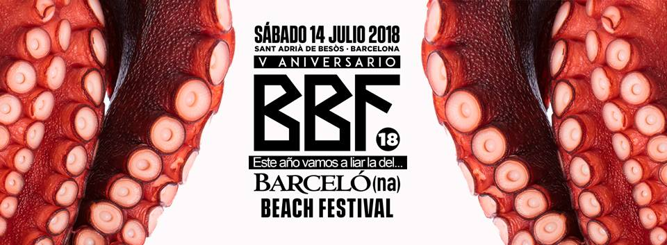 Photo of #BBF – Barcelona Beach Festival 2018 – Che lineup da paura!