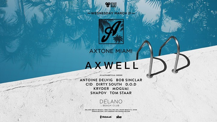 Photo of Axtone Miami | Miami Music Week 2018