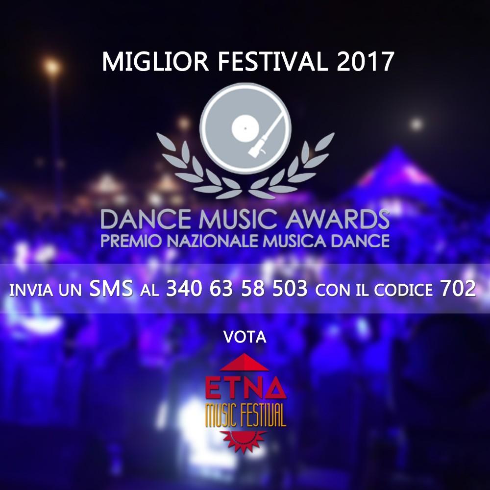 Photo of Etna Music Festival in Nomination ai Dance Music Awards, Vota Ora!