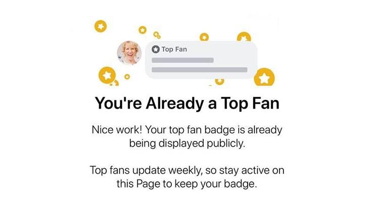 Photo of Facebook introduce il badge Top-Fan per gli utenti più attivi