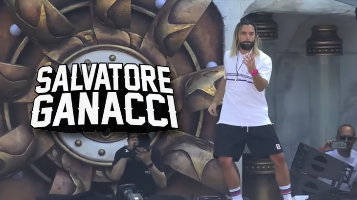 Photo of Salvatore Ganacci, un animale da palco scenico