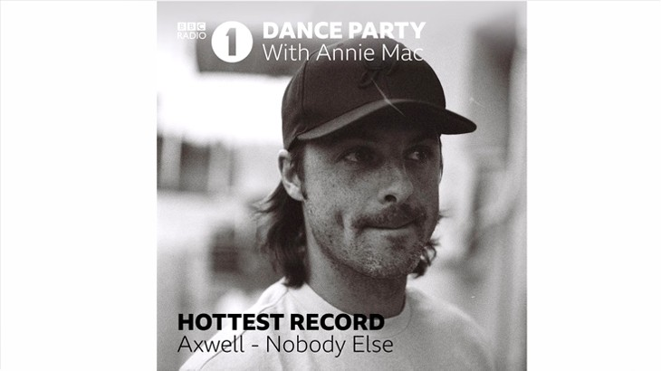 Photo of La #Premiere di Nobody Else di Axwell su BBC R1