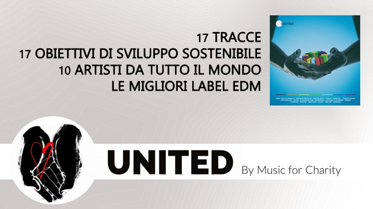 Photo of United Music For Charity L'album è Fuori