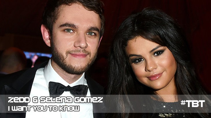 Photo of #TBT | Zedd – I Want You To Know