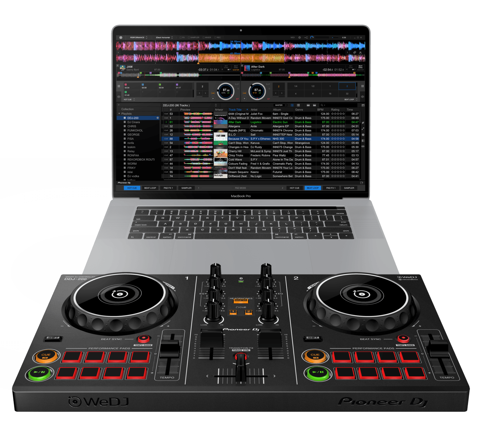 Photo of Pioneer presenta la console SMART entry level DDJ-200