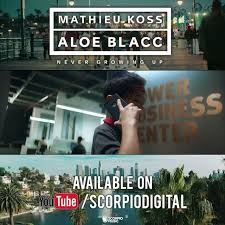 Photo of #Release | Mathieu Koss, Aloe Blacc – Never Growing Up