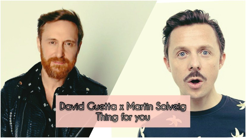 Photo of #Release | David Guetta, Martin Solveig – Thing For You