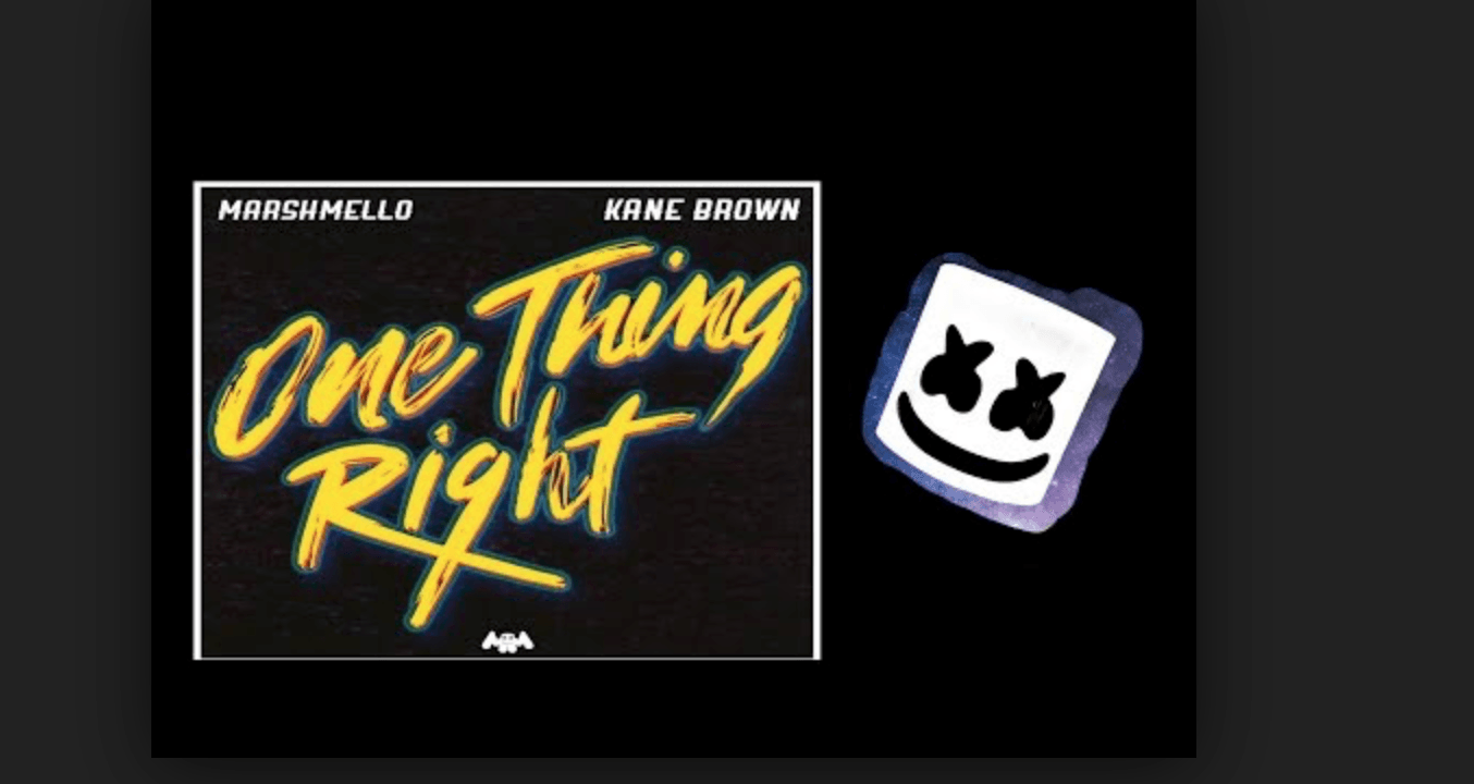 Photo of #Release   Marshmello, Kane Brown – One Thing Right