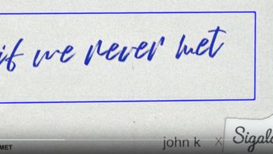 Photo of #Release | John K, Sigala – If We Never Met