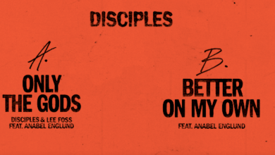 Photo of #Release | Disciples and Lee Foss feat. Anabel Englund – Only The Gods