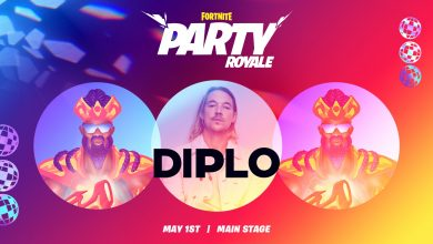 Photo of Fortnite X Diplo | The inauguration of Party Royale