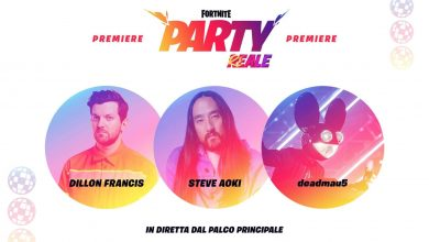 Photo of FORTNITE | New concert with Dillon Francis, Steve Aoki and Deadmau5