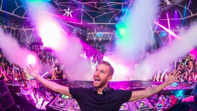 Photo of Calvin Harris at the 1° place for the most played track of 2019