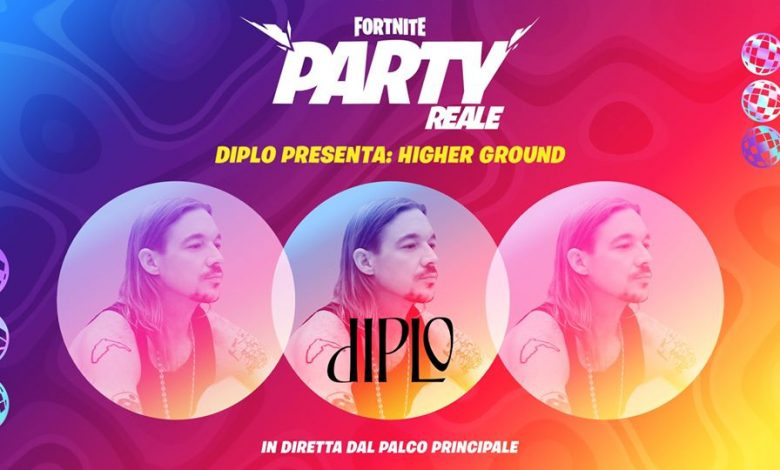 Photo of Diplo presents Higher Grounds on Fortnite