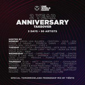 one world radio anniversary