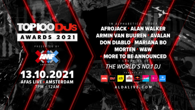 Top100 DJs Awards 2021 presented by AMF